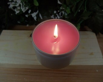 8 oz Soy Candles in Metal Tin- 200+ Scents Available -Great Gift Ideas-Hostess Gifts- Party Favors- Baby Shower
