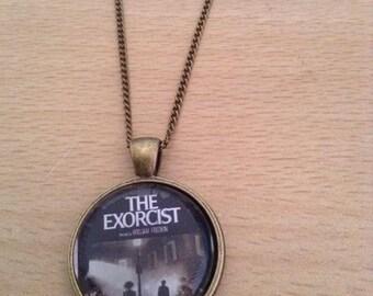 THE EXORCIST Pendant Necklace.  Handmade, Unique