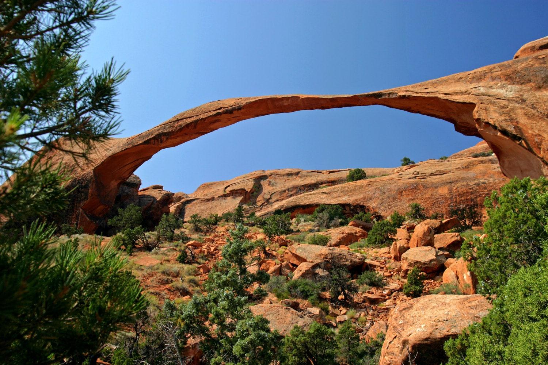 Landscape Arch Arches National Park Moab Utah Fine Art