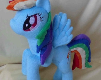 My Little Pony Friendship is Magic: ~Flying Rainbow Dash Plush~
