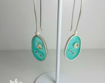 Drops of Water Earrings