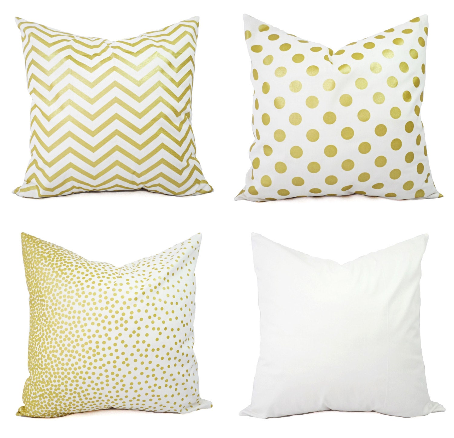 Decorative White Pillow Covers : Kitchen & Dining