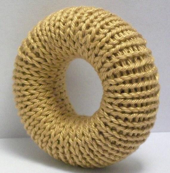 Sock Bun Pattern Hair Bun Maker Knitting Pattern by Toriione