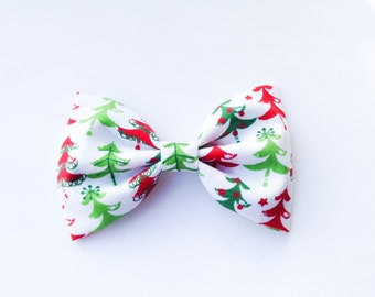 Christmas tree bow or bow tie