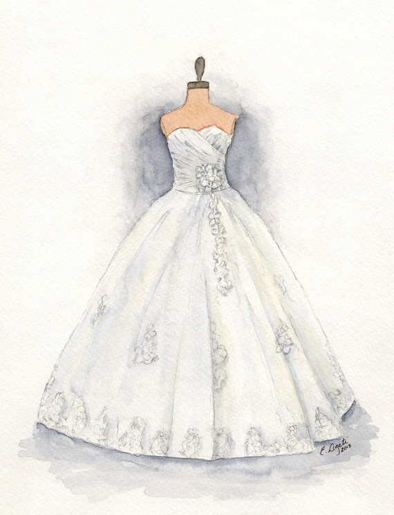 Image result for wedding dress drawing