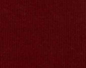 HALF YARD Crimson Corduroy Fabric Finders Cotton Fabric