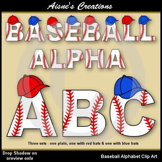 Baseball Alphabet Letters Baseball Alphabet/letters Clip