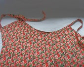 Classic Women's Apron with Pockets - Adjustable size