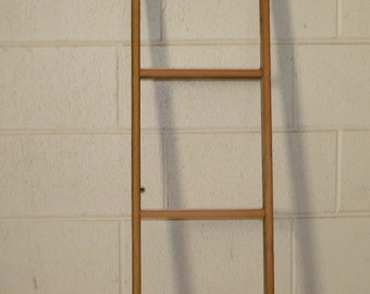 Handcrafted Barn Wood 4 Foot Ladder