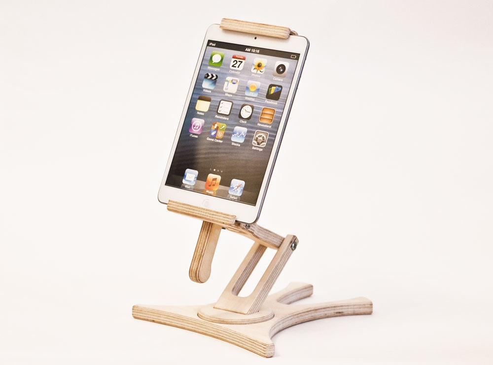 Tablet Holder Ipad Stand Kitchen Tablet Stand Wood