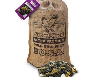 "Sweet-Seed Premium Wild Bird Feed: ""Montezuma Medley"" Ultra Premium Wildberry Blend (5lb)"