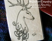 Celtic Knotwork Stag Art Print - 5x7