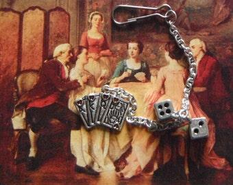 Gambling Key Chain