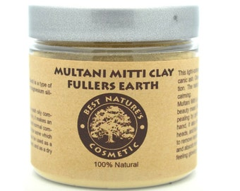 Multani Mitti (Fullers Earth) Clay to take care of skin problems like acne, blackheads, remove impurities and dead skin cells...