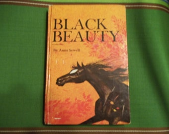BLACK BEAUTY Hardcover Book by Anna Sewell - Black Beauty - 1970 Black Beauty - Hardcover Black Beauty - Horse Book