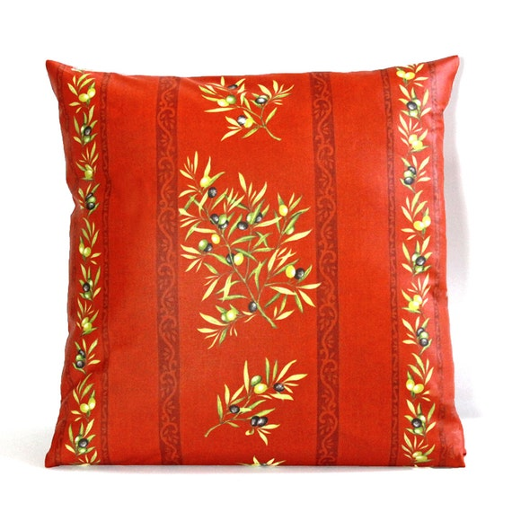 Provence Pillow Cover - Outdoor - Indoor Pillow Cover - Many Sizes and ...