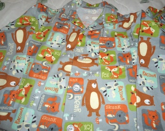 Size 8 Pajama for any boy who likes the out of doors