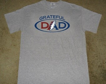 Grateful Dad Shirt, Dead Head dad, Grateful dead fan, Greatful dead t shirt