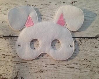 Easter bunny mask, Bunny mask