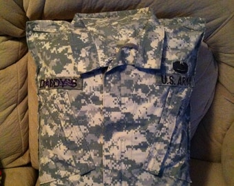 Military uniform pillow case