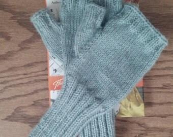 Wool Fingerless Mittens