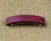 Purpleheart Barrette / Hair Clip / French Barrette