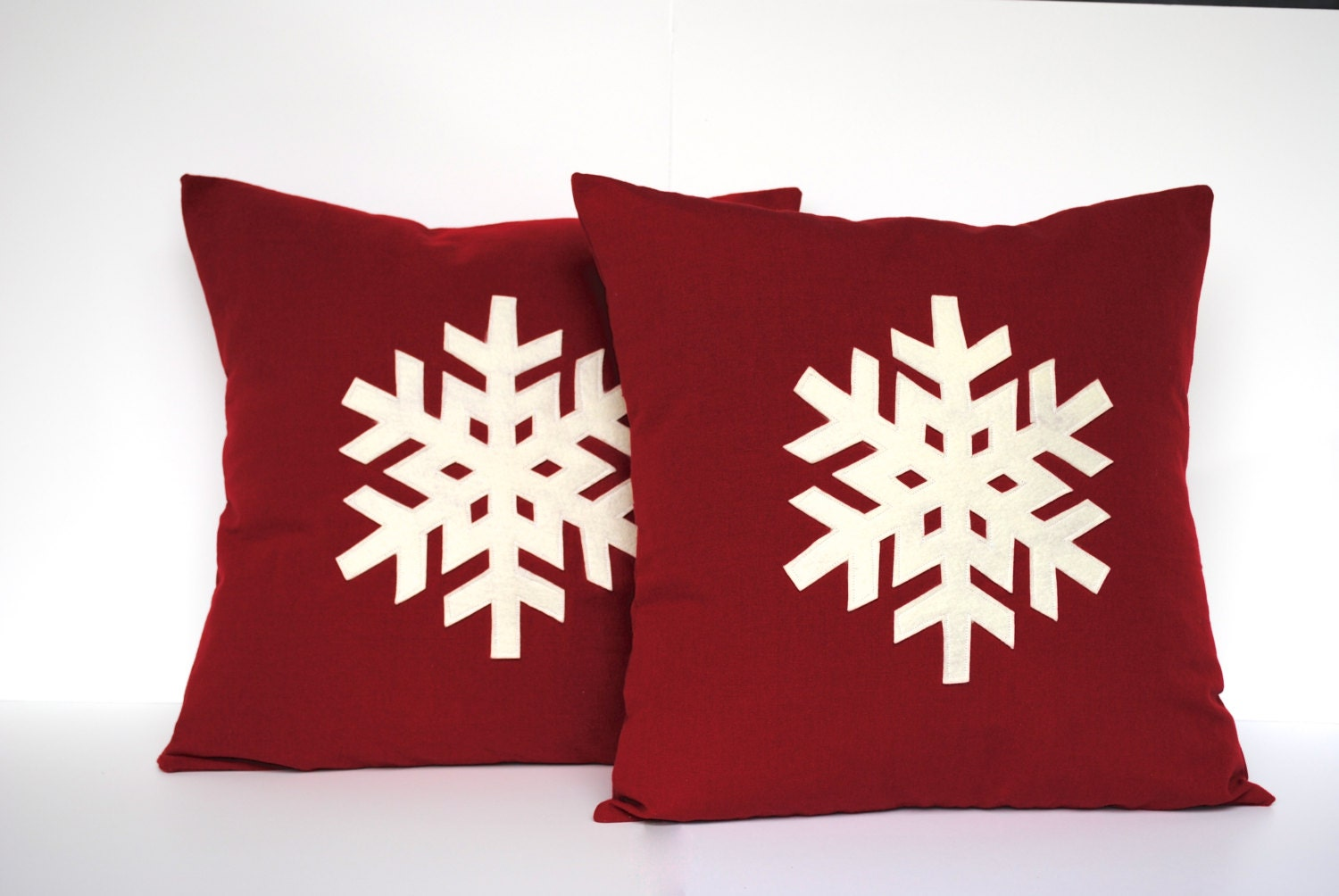 Add some holiday cheer to your favorite pillows with the