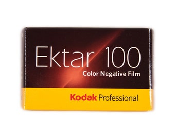 Kodak Ektar 100 35mm Color Film - 135-36 35mm Ektar 100 Color Negative Film 36 Exposure, color photography Kodak color film 35mm film