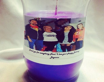 Large 15oz Customized Your Way Candle