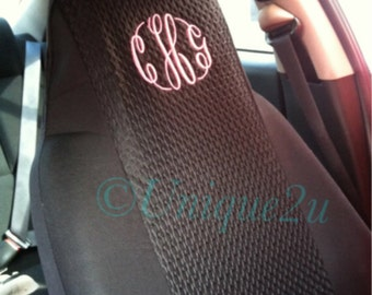 Personalized Monogrammed Car seat covers (2)
