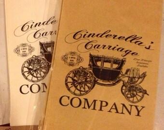 Cinderella party favor bags