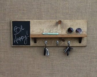 Chalkboard, Key Holder, Entryway Shelf