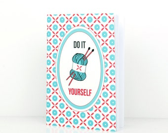 Mini  notebook A6 - Do it Yourself - DC