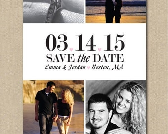 Photo Block Save the Date: Photo, Digital File