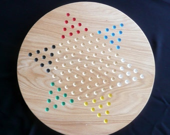 Handcrafted Chinese Checkers