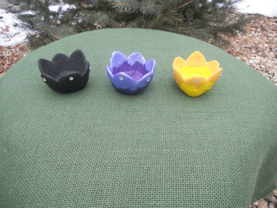 Spiritual Altar Flower Candle Holder/ Orisha Candle Holder/ Prayer CandleHolder/ Breaking Negative Energy  and Hexes~ Made To Order