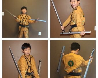 Golden Ninjago costume