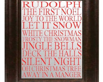 Christmas Song Mirror