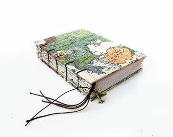 Europe Map - Travel Journal, Notebook, Sketchbook