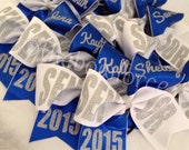 Senior Cheer Bow with your name - #201865684