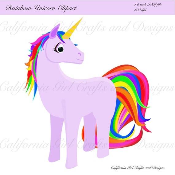 rainbow unicorn clipart - photo #31