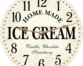 Ice Cream Clock- Ice Cream Wall Clock