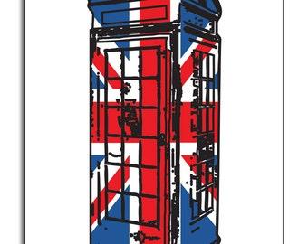 Best of British Phone Box Union Jack Mouse Mat Mouse Pad