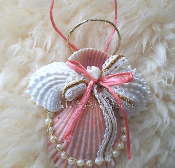 Seashell Angel Ornament