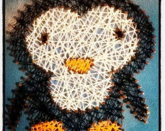 Peguin String Art