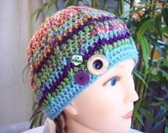Woman's Crocheted Beanie
