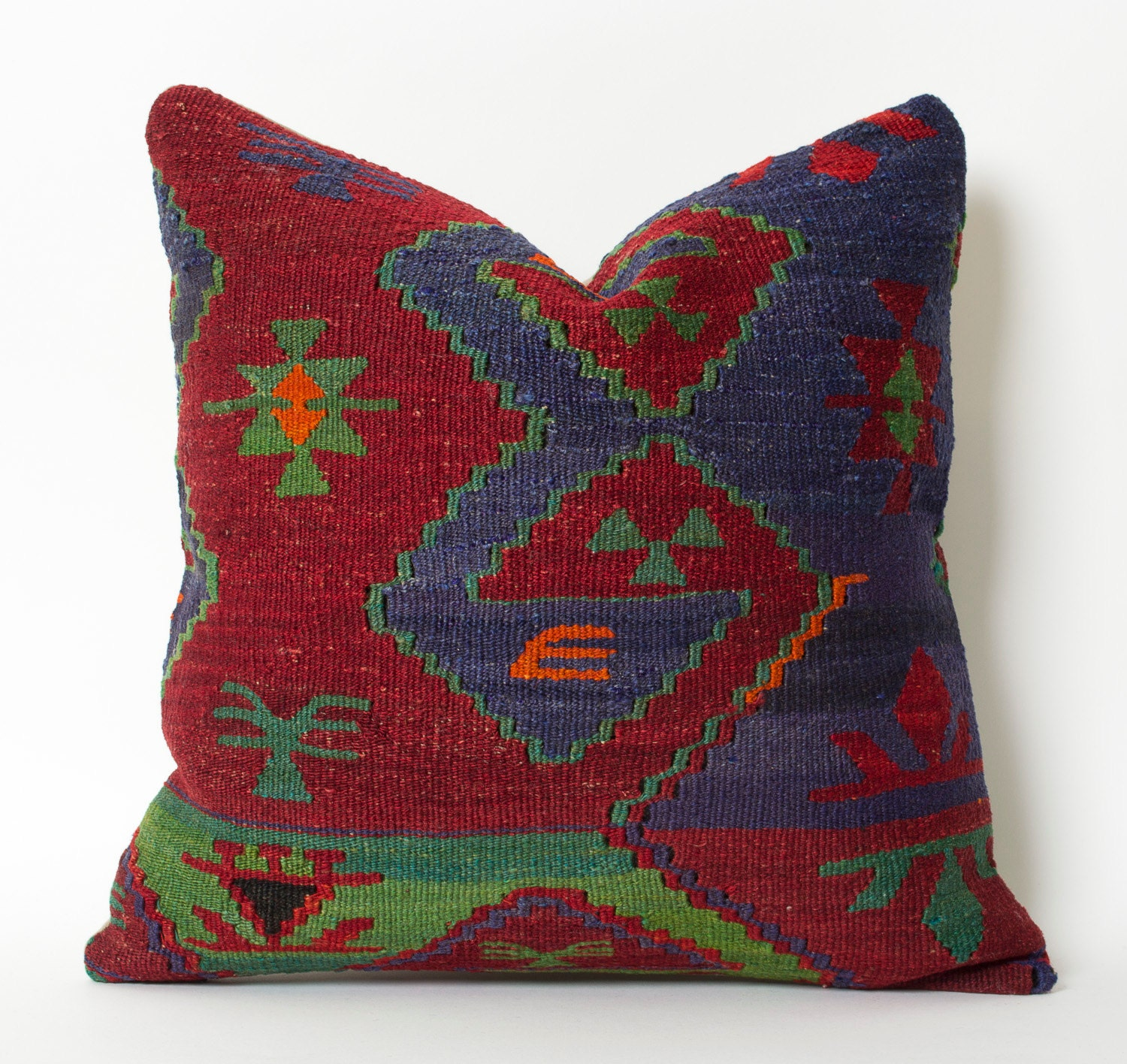 Southwestern Throw Pillows For Couch : Kilim pillow shabby chic southwestern throw pillows native