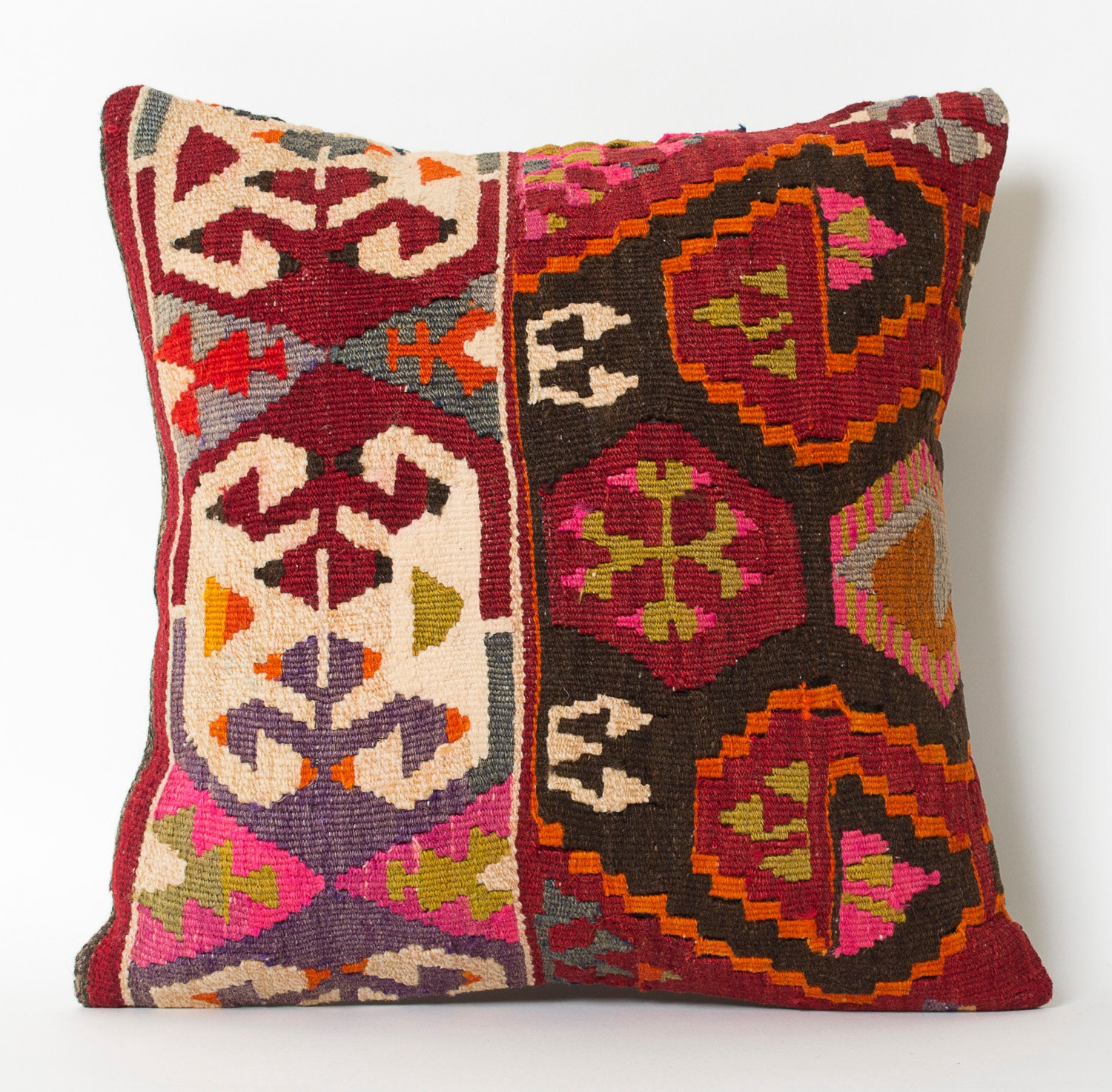 Decorative Pillows Kilim : ethnic pillow decorative pillow kilim pillow throw pillow