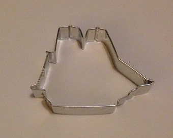 "4.25"" Sailing Ship Cookie Cutter"