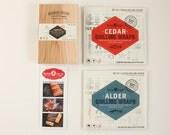 Plank Master Grilling Kit: Cedar Wraps, Alder Wraps + Grilling Plank Sampler Pack